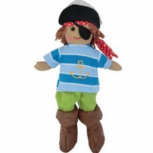 Small Boy Pirate Rag Doll